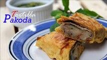 Breakfast Recipes Ideas \ Snacks recipes | Leftover Roti/tortilla Pakora Recipe | Veg Recipes India