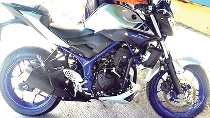 Yamaha MT-25 Naked Spotted First Time