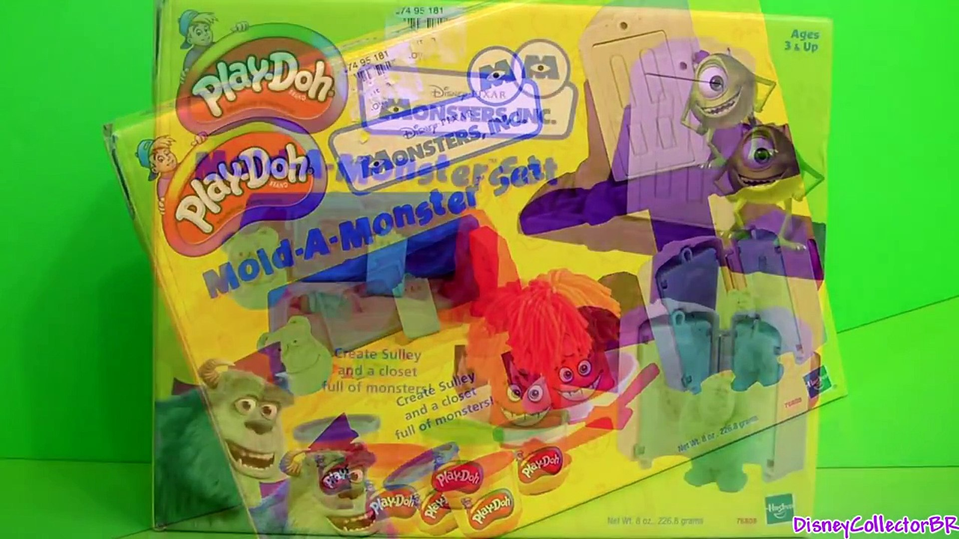 Play Doh Mold A Monster Playset Disney Monsters Inc Scare