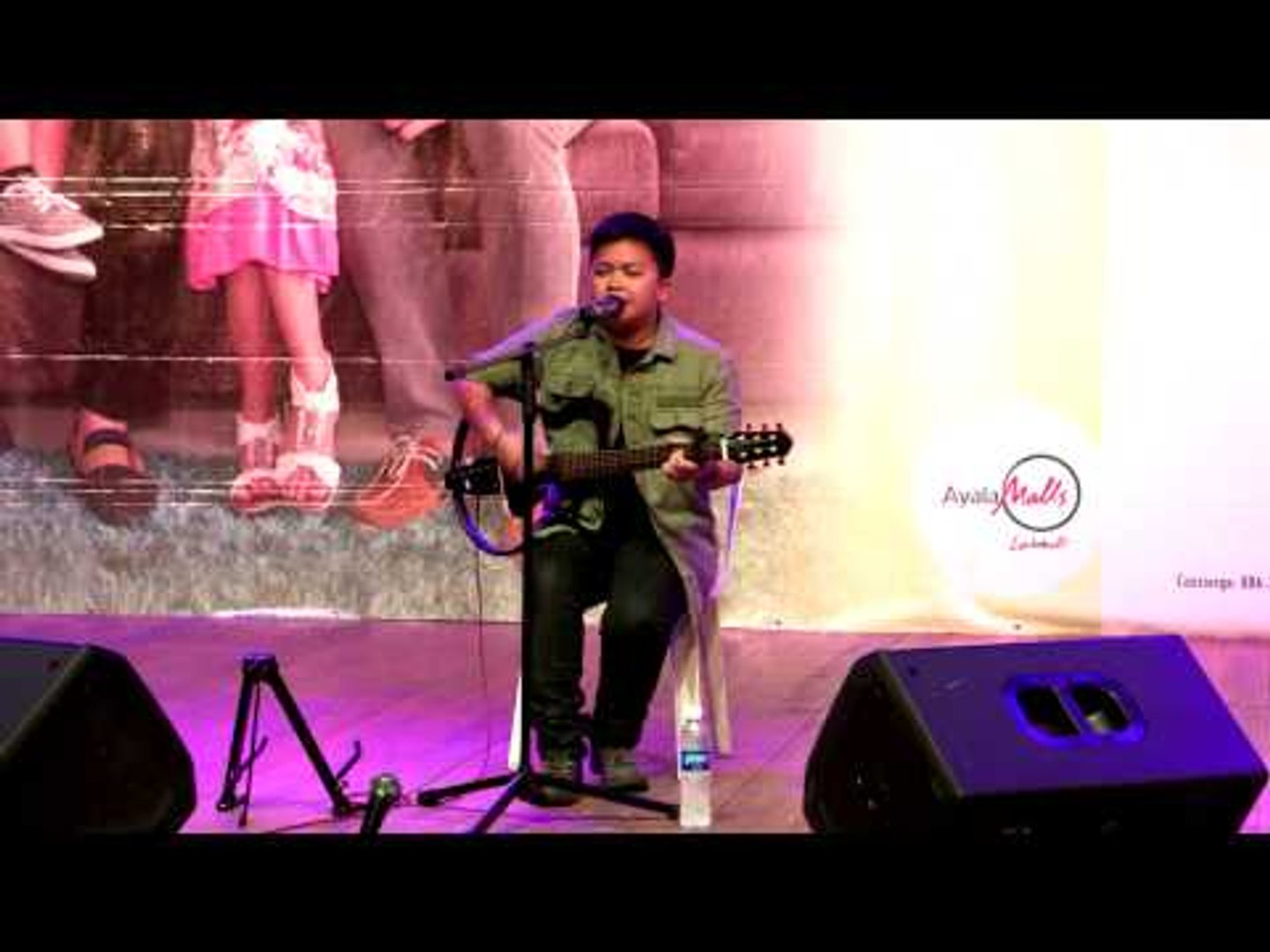 Aiza Seguerra sings 'Huling El Bimbo' at the Be Careful With My Heart Finale Mall Show