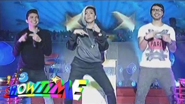 Watch the new dance craze of Vhong, Billy and Vice