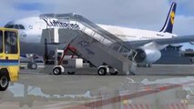 FSX Turkish Airlines Airbus A330-343X takeoff from Beirut