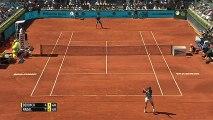 Rafael Nadal vs Tomas Berdych -Madrid Open 2015 - Backhand winner - ateeksheikh