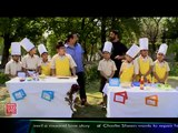 With the young chefs of Welham Boys School