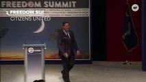 Rick Santorum Walks Out To 'Happy,' Pharell Hates Santorum