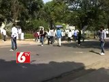 Osmania Students Protest Faced Tear Gas Attack From Police