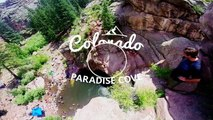 Paradise Cove Cliff Diving - Awesome Colorado!
