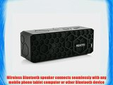 Reactiv Portable Wireless Bluetooth Speaker (With Mic and 8 Hour Battery)