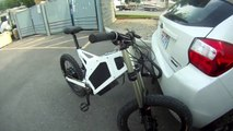 Stealth Bomber Electric Bike -  First Ride by eBikeUtah.com Utah's source for E-Bikes - 65.4 MPH!
