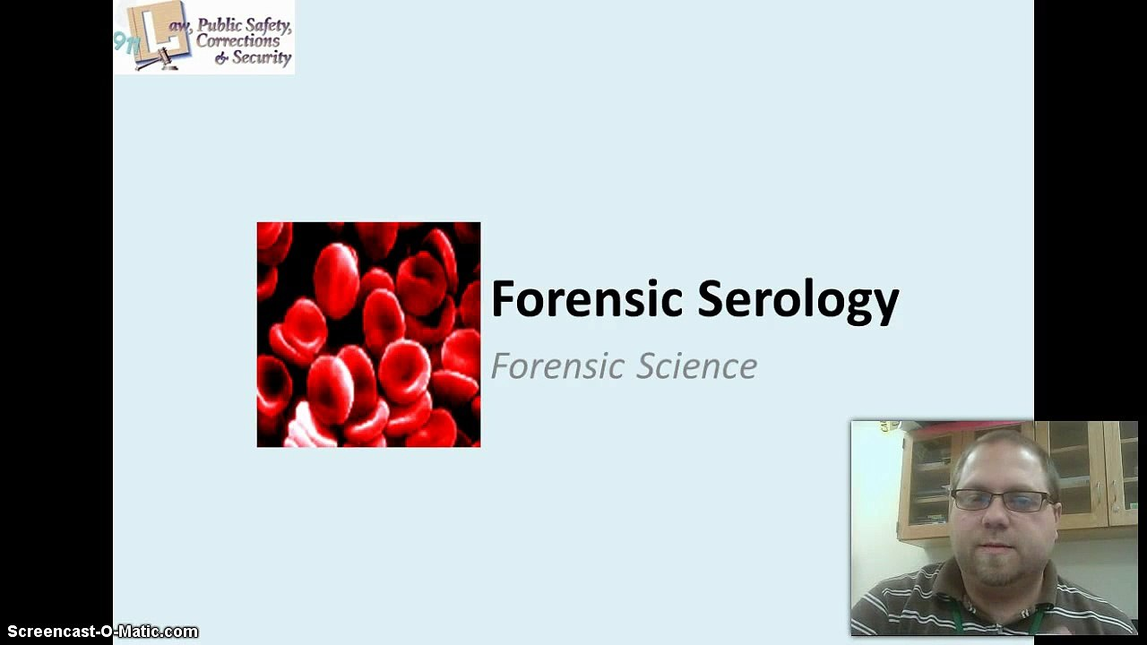 Forensic Serology Blood And Body Fluids Video Dailymotion