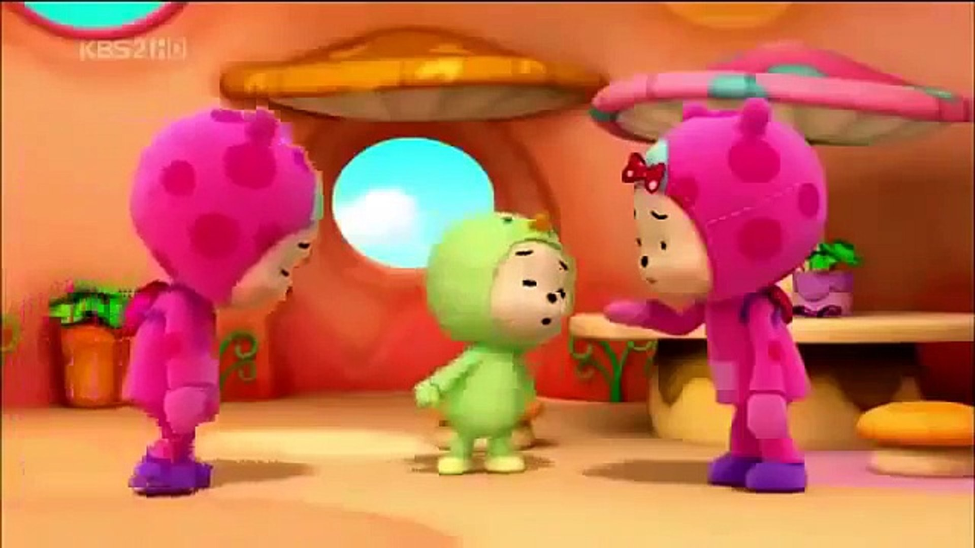 Hutos Mini Mini 후토스 미니미니 Korean Cartoon  Funny cartoon larva 2015
