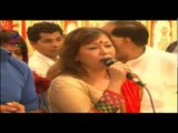 Ganpati Bappa Morya :Singer SUSHMA SHRESHTA at MAHA Aarti For ANDHERI CHA RAJA
