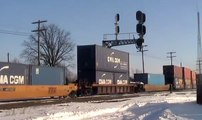 Fostoria Ohio Trains: CSX, NS, UP, BNSF, CP, SOO, CR