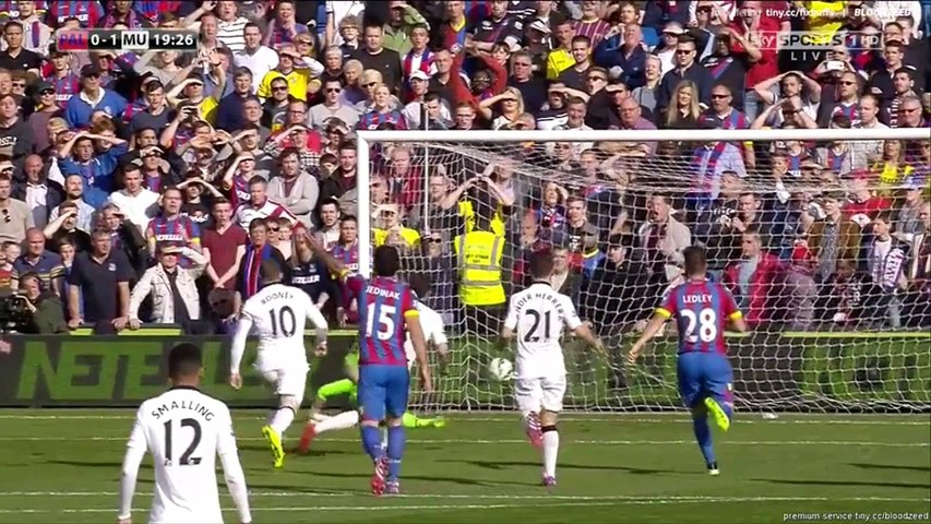 Crystal Palace vs Manchester United  1 - 2 Highlights