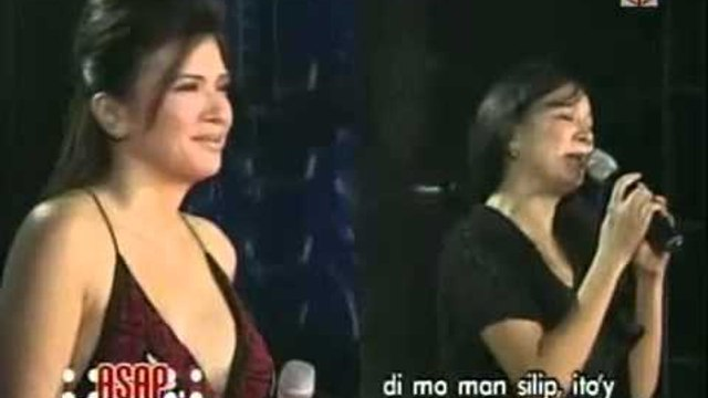 Zsa Zsa Padilla sings 'Paglisan' with Cooky Chua on ASAP