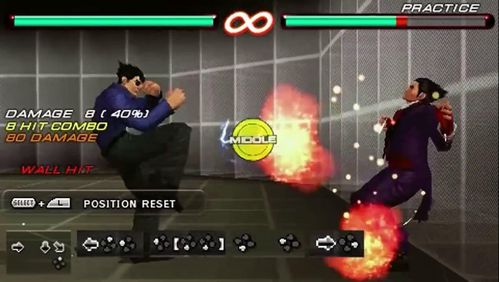 Tekken 6 Jin Kazama Combo Sequence - Tutorial