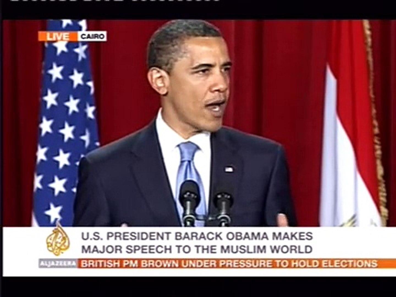 1/6 Obama Landmark Speech Cairo University Opening Comments - video  dailymotion