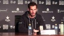 ATP - Madrid - Andy Murray évoque Rafael Nadal avant de jouer la finale à Madrid