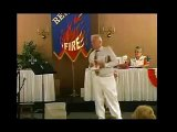Navy Chaplain Brian K. Waite at Revival Fires campmeeting