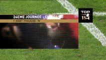 TOP14 - Toulouse - Brive : Essai 3 Yoann Huget (ST) - J24 - Saison 2014/2015
