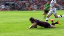 TOP14 - Toulouse - Brive : Essai Corey Flynn (ST) - J24 - Saison 2014/2015