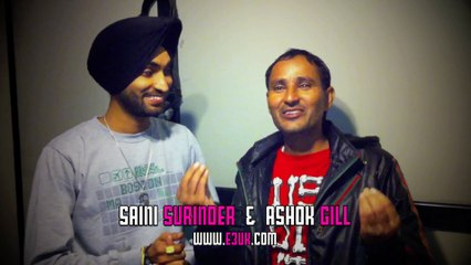 [E3UK Records & Kudos Music] Saini Surinder & Ashok Gill in the studio