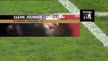 TOP14 - Toulouse - Brive : Essai 2 Maxime Medard (ST) - J24 - Saison 2014/2015
