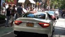 Crazy Spots In New York City - Bugatti / Ferrari / Lamborghini / Maserati