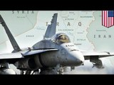 Syria crisis: US launches first airstrikes on ISIS strongholds inside the country