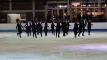 Programme libre Kallysta (Nice) - 2ème en juniors - Championnat de France 2015 de ballet sur glace