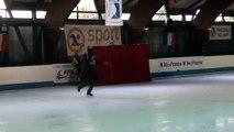 Programme libre Les Confettis (St Ouen) - 3ème en juniors - Championnat de France 2015 de ballet sur glace