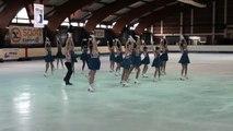 Programme libre Estrella (Colombes) - 2ème en novices - Championnat de France 2015 de ballet sur glace