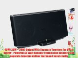 Sony Portable Speaker Dock for Ipad Ipod and Iphone with Lightning Dock Connector for Iphone