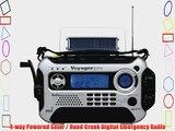 Kaito Voyager Pro KA600 Digital Solar/Dynamo AM/FM/LW/SW