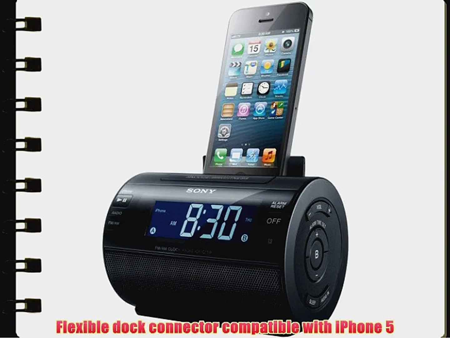 4 iPod Nano 3GS Clearcrate iDock 30-Pin Docking Station for iPod Touch 4S iPhone 3G