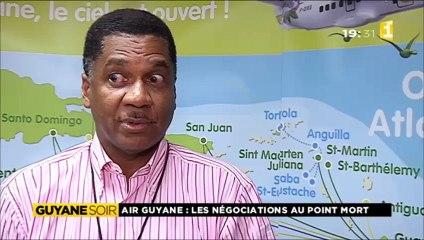 Grève Air Guyane - statut quo
