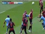 Milner Goal Manchester City - QPR 5-0 | Premier League 2015