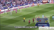 Sergio Aguero Hattrick (Penalty Goal) Manchester City 4-0 QPR | Premier League 2015