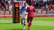 TOP14 - Toulon - Castres: Essai 2 Josua TUISOVA (TLN) - J24 - Saison 2014/2015