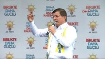 Şanlıurfa - Başbakan Ahmet Davutoğlu, Partisinin Şanlıurfa Mitinginde Konu