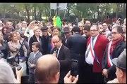 Inauguration de la place Slimane Azem à Paris, discours de Brahim SACI de IDIR et de la famille AZEM