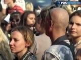 Анджелина Джоли в Москве заговорила по-руссски