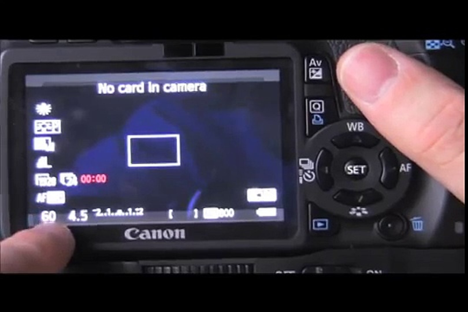 How To Use Your Manual Video Setting For Canon 550d/T2I