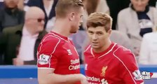 Mourinho and Chelsea fans They applaud to Steven Gerrard - Chelsea vs Liverpool 1-1 2015
