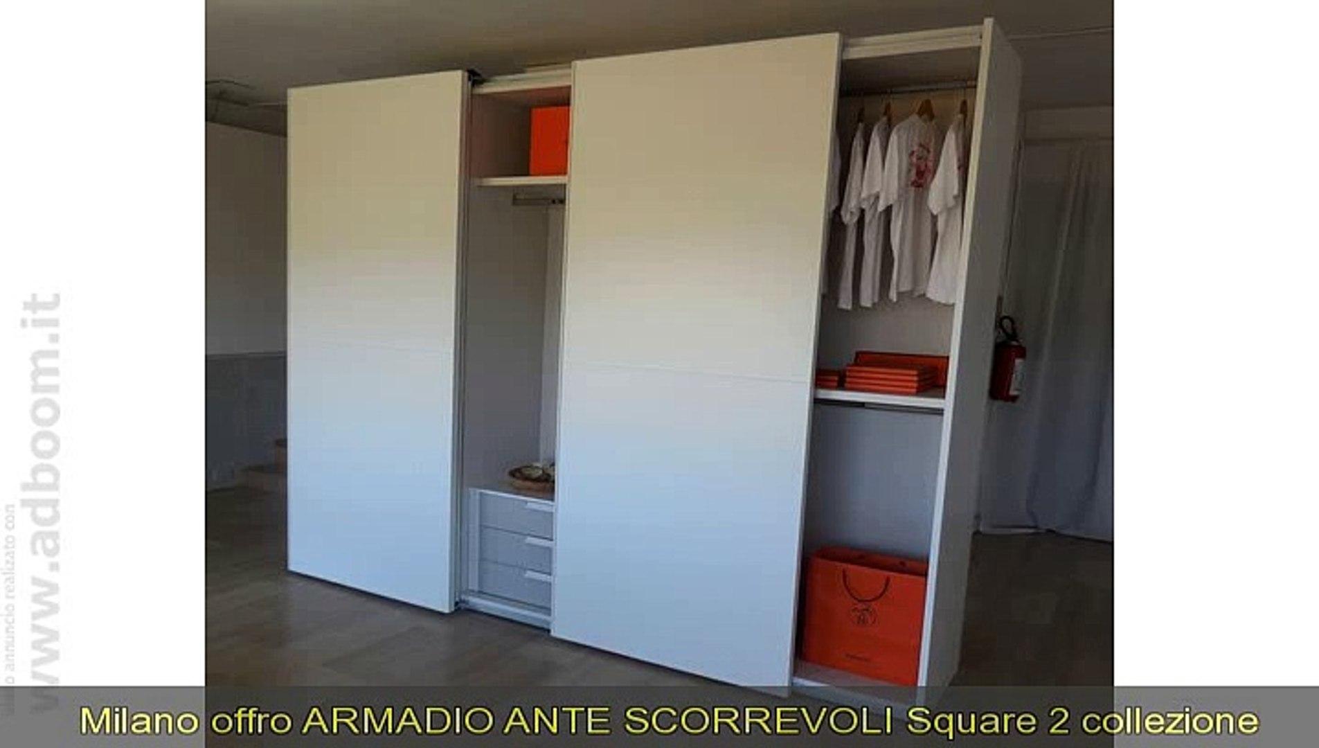 Armadio Ante Scorrevoli A Milano.Milano Armadio Ante Scorrevoli Square 2 Collezione Jesse Euro