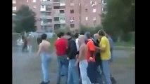 Пьяные Гопники Устроили Драку Прямо На Улице! - Пьяные Драки На Улице