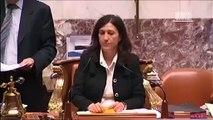 Coup de gueule de Marion Maréchal-Le Pen à l'Assemblée nationale