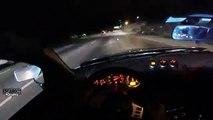 Une Nissan 350Z slalome entre les voitures à plus de 200 kmh