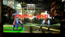 Mortal Kombat 9 Kratos Arena Fatality Level One