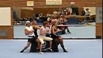 Spoho DSHS Akrobatik 09/10 - Fluch der Karibik - Florian, Lukas, Julia, Jasmin, Philipp, Jörg
